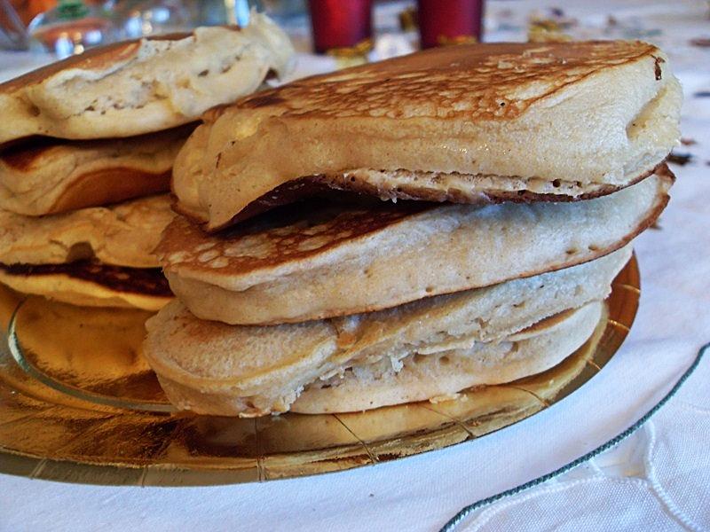 pancakes végétaliens