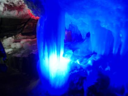 Grotte de glace de Koungour